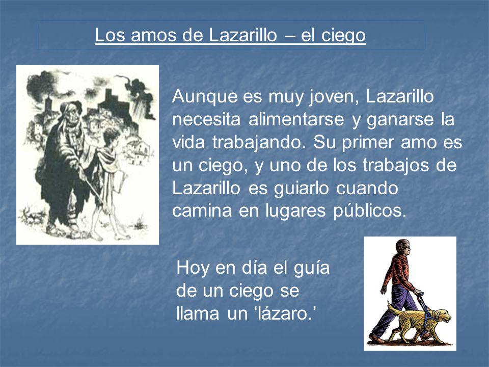 Los amos de Lazarillo – el ciego