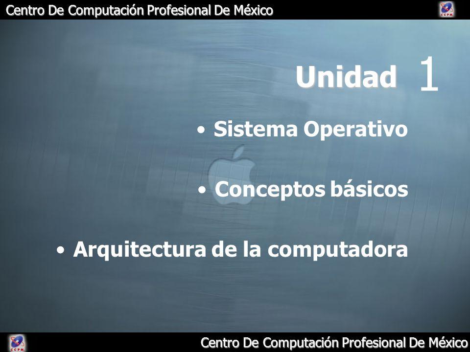 1 Unidad Sistema Operativo Conceptos básicos