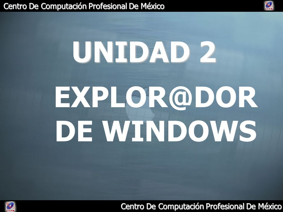 UNIDAD 2 DE WINDOWS