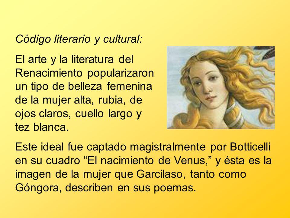Código literario y cultural: