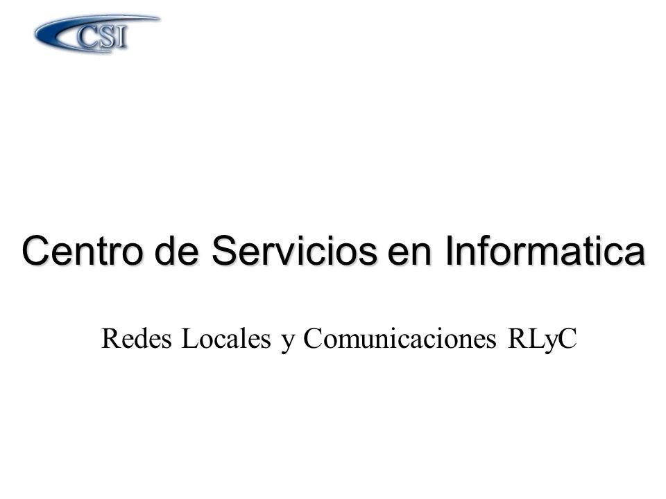 Centro de Servicios en Informatica