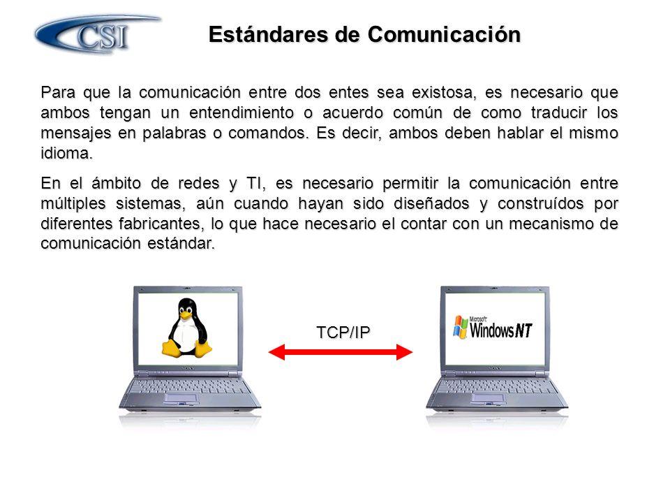 Estándares de Comunicación