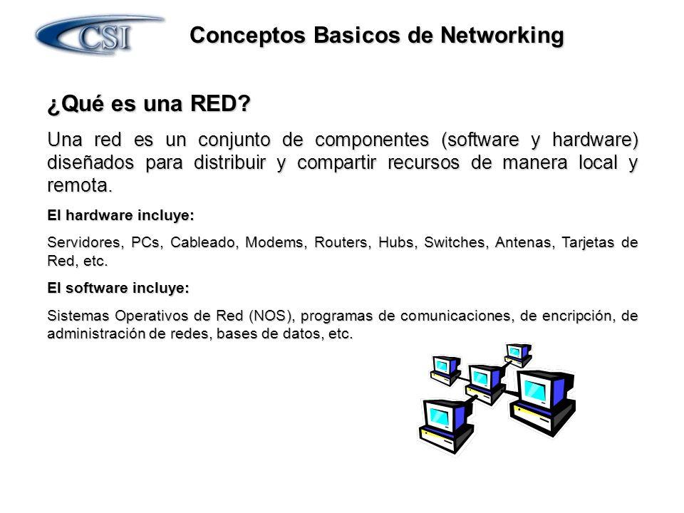 Conceptos Basicos de Networking