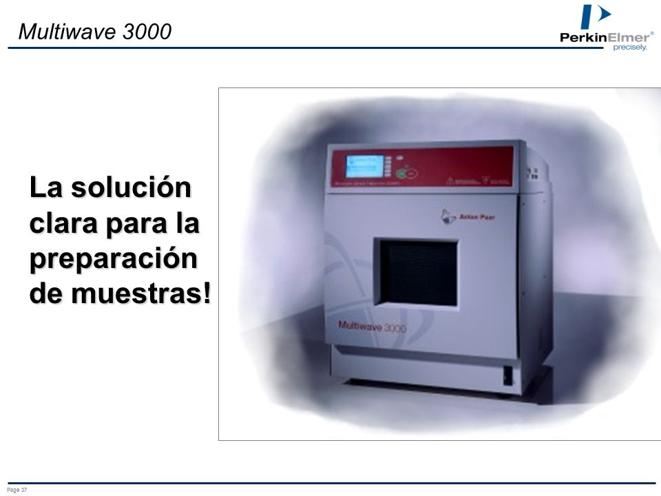 La solución clara para la preparación de muestras!