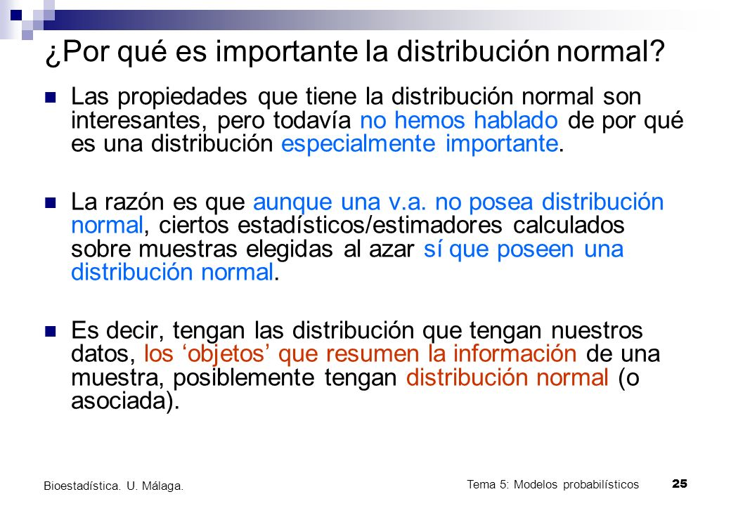 ¿Por qué es importante la distribución normal