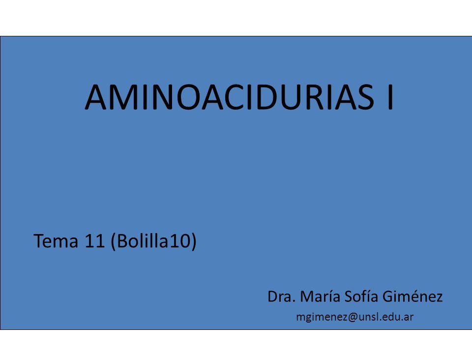 Dra. María Sofía Giménez