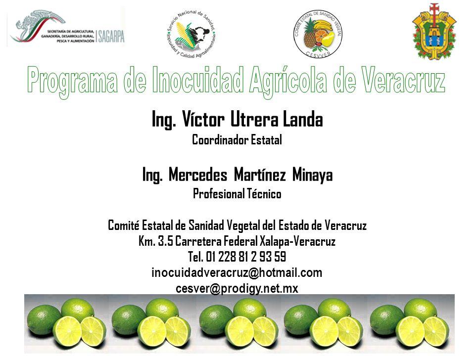 Programa de Inocuidad Agrícola de Veracruz