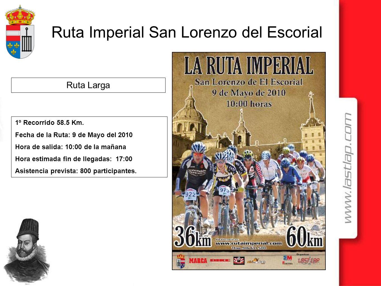 Ruta Larga 1º Recorrido 58.5 Km. Fecha de la Ruta: 9 de Mayo del 2010