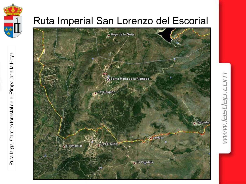 Ruta larga, Camino forestal de el Pimpollar a la Hoya.