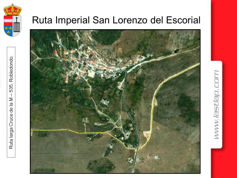 Ruta larga Cruce de la M – 535, Robledondo.