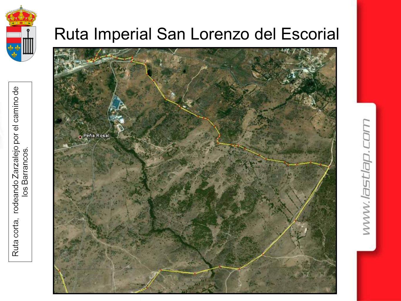 Ruta corta, rodeando Zarzalejo por el camino de los Barrancos.
