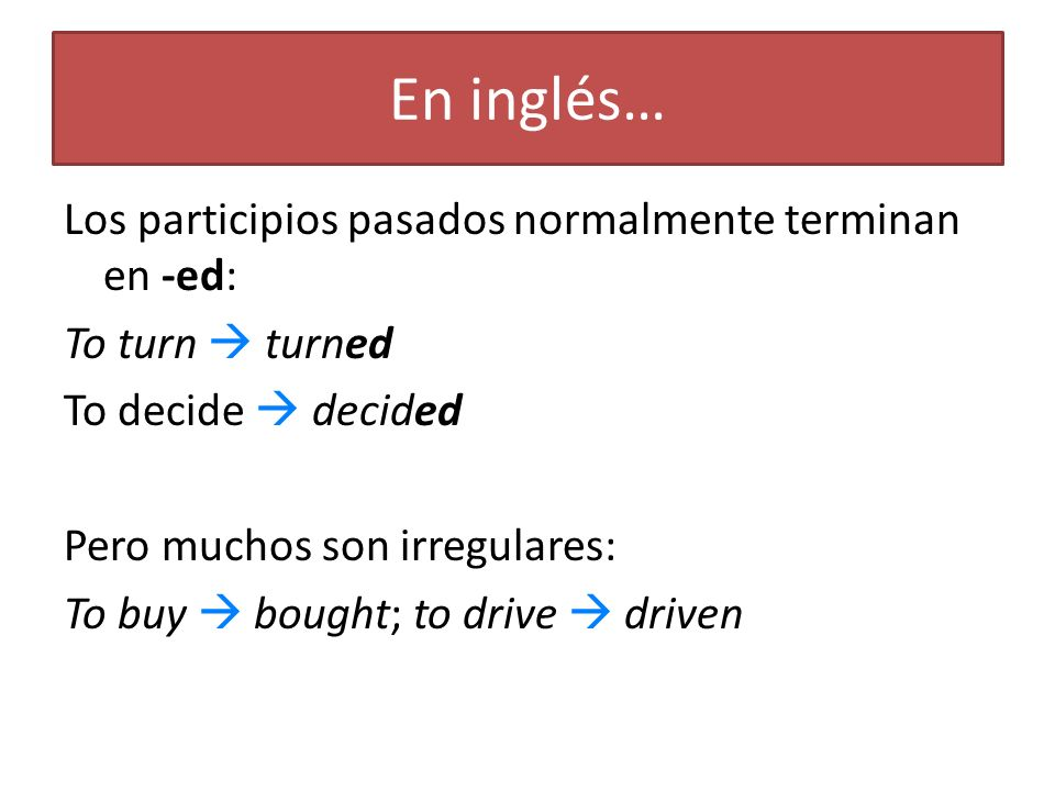 En inglés…