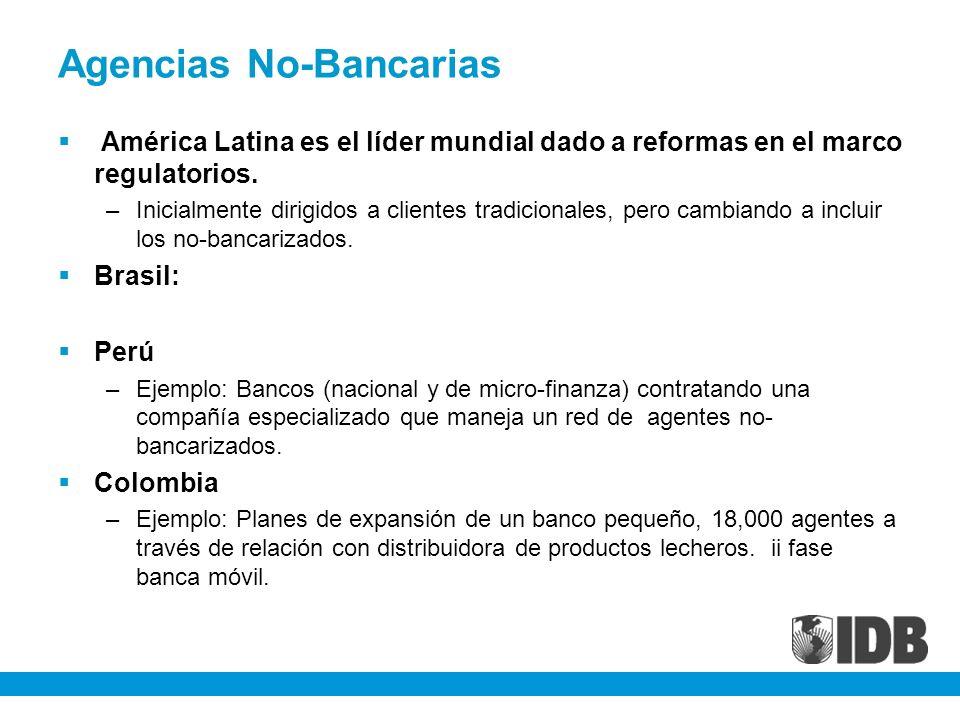 Agencias No-Bancarias