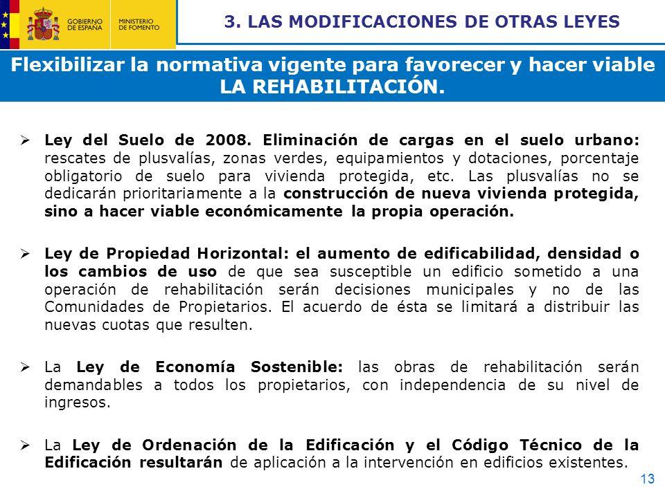 3. LAS MODIFICACIONES DE OTRAS LEYES
