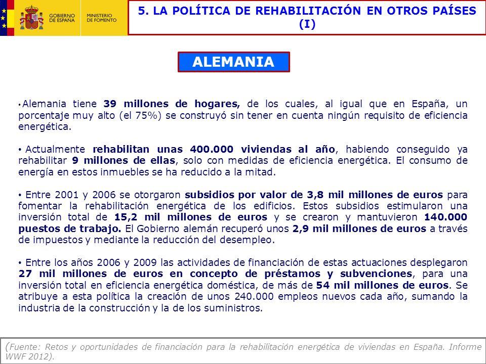 5. LA POLÍTICA DE REHABILITACIÓN EN OTROS PAÍSES (I)