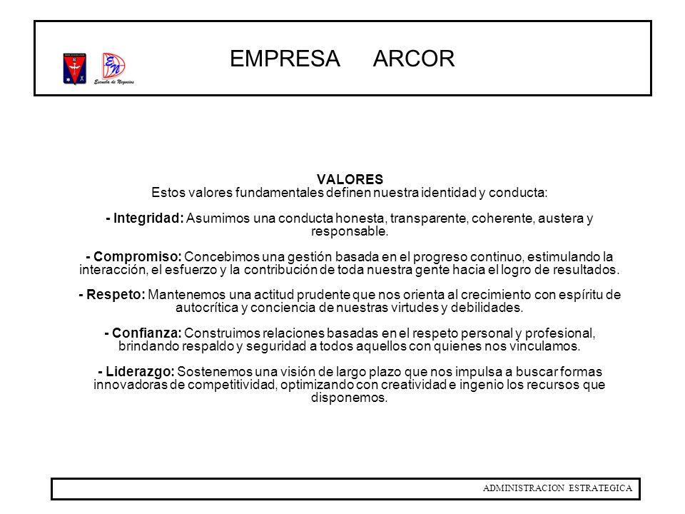 EMPRESA ARCOR