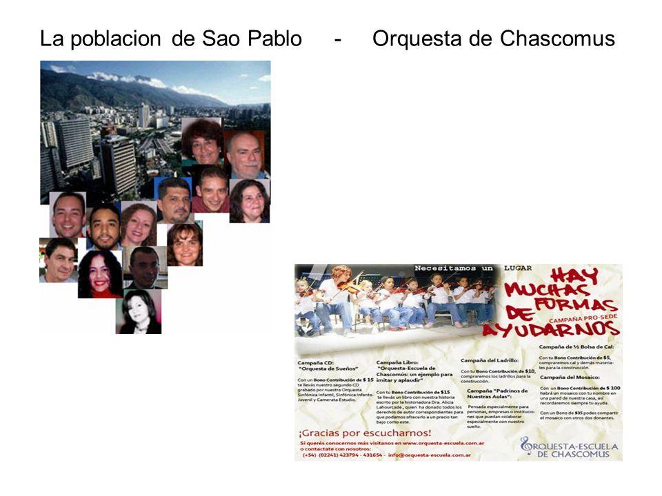 La poblacion de Sao Pablo - Orquesta de Chascomus
