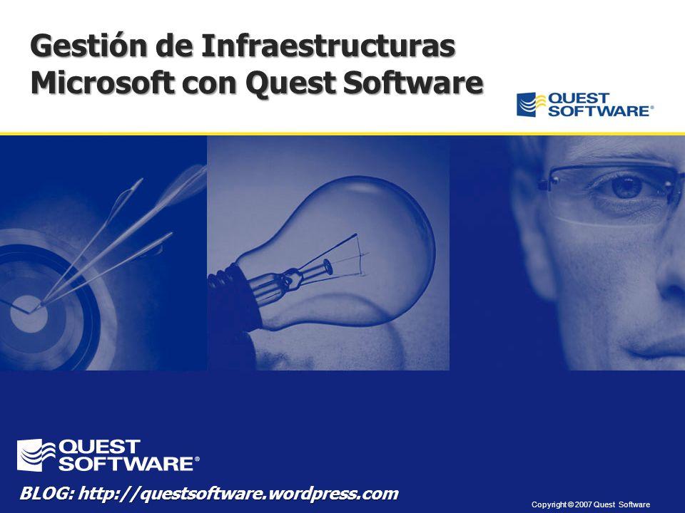 Gestión de Infraestructuras Microsoft con Quest Software