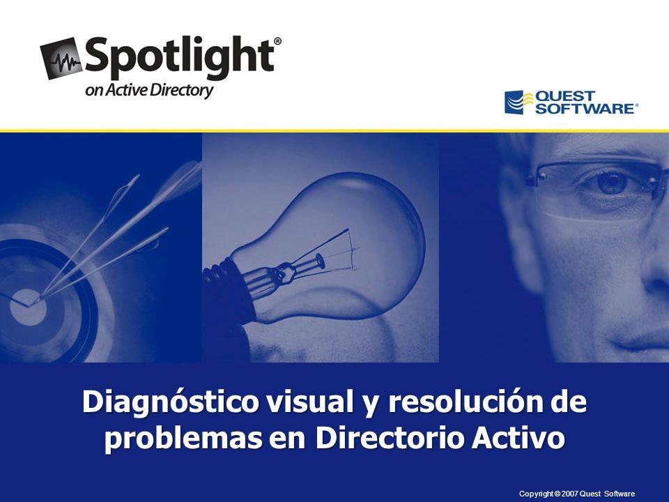 Diagnóstico visual y resolución de problemas en Directorio Activo