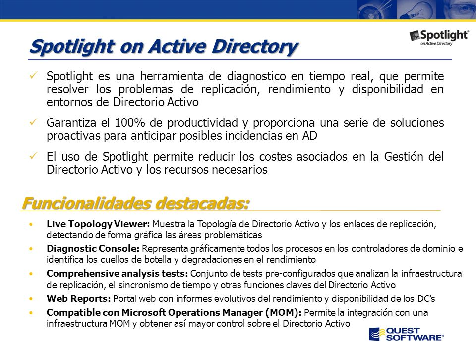 Spotlight on Active Directory
