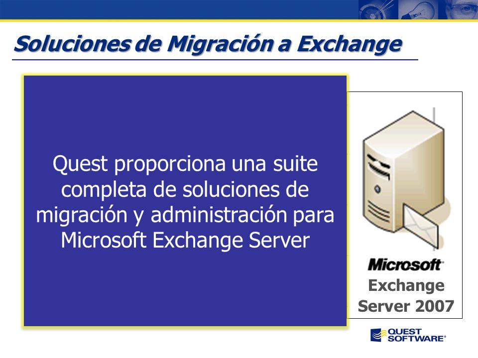 Soluciones de Migración a Exchange