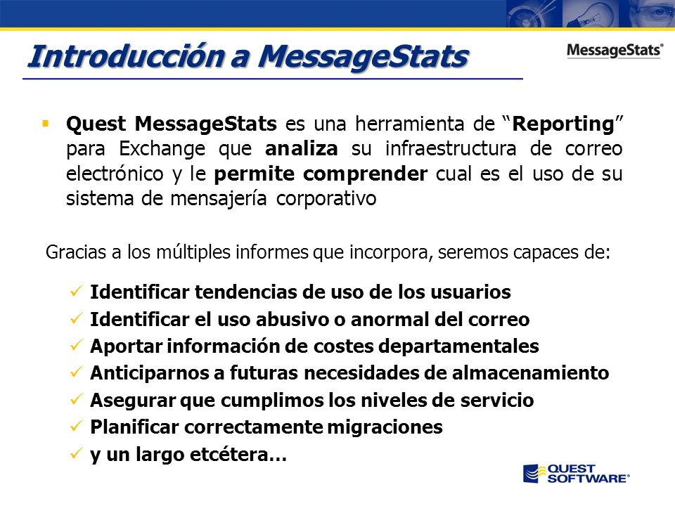 Introducción a MessageStats