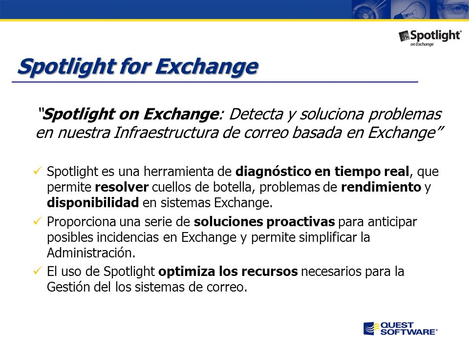 Spotlight for Exchange
