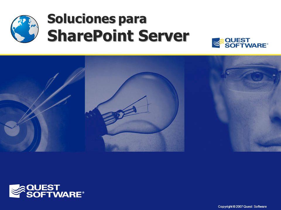 Soluciones para SharePoint Server