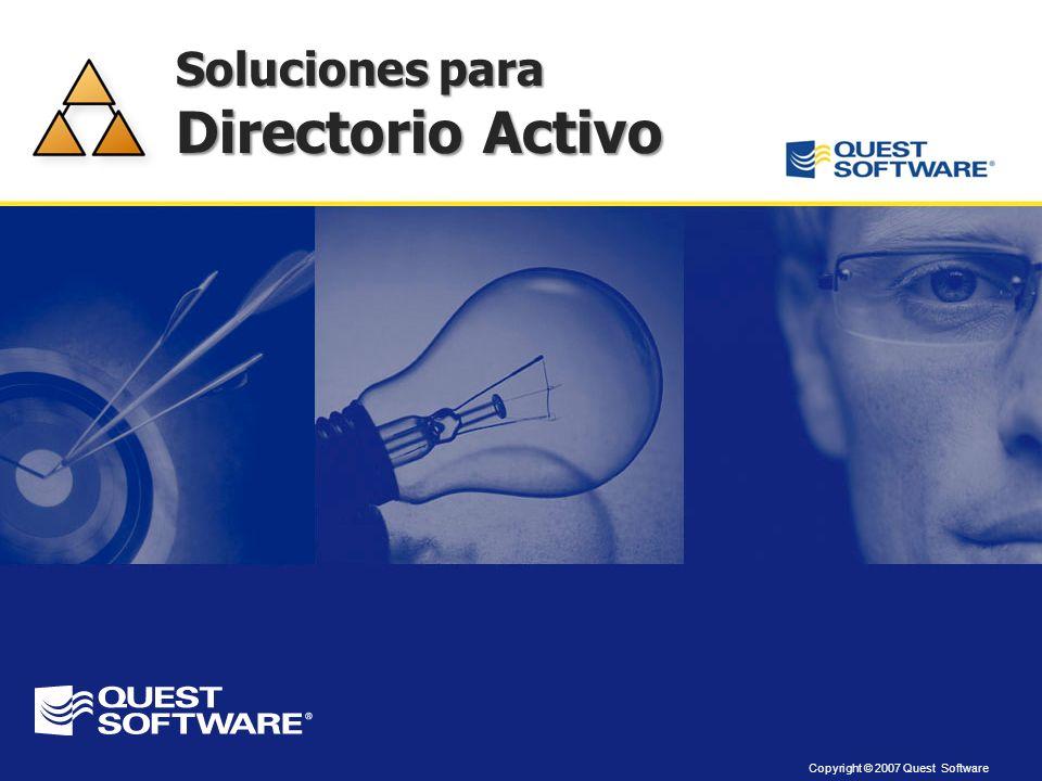 Soluciones para Directorio Activo
