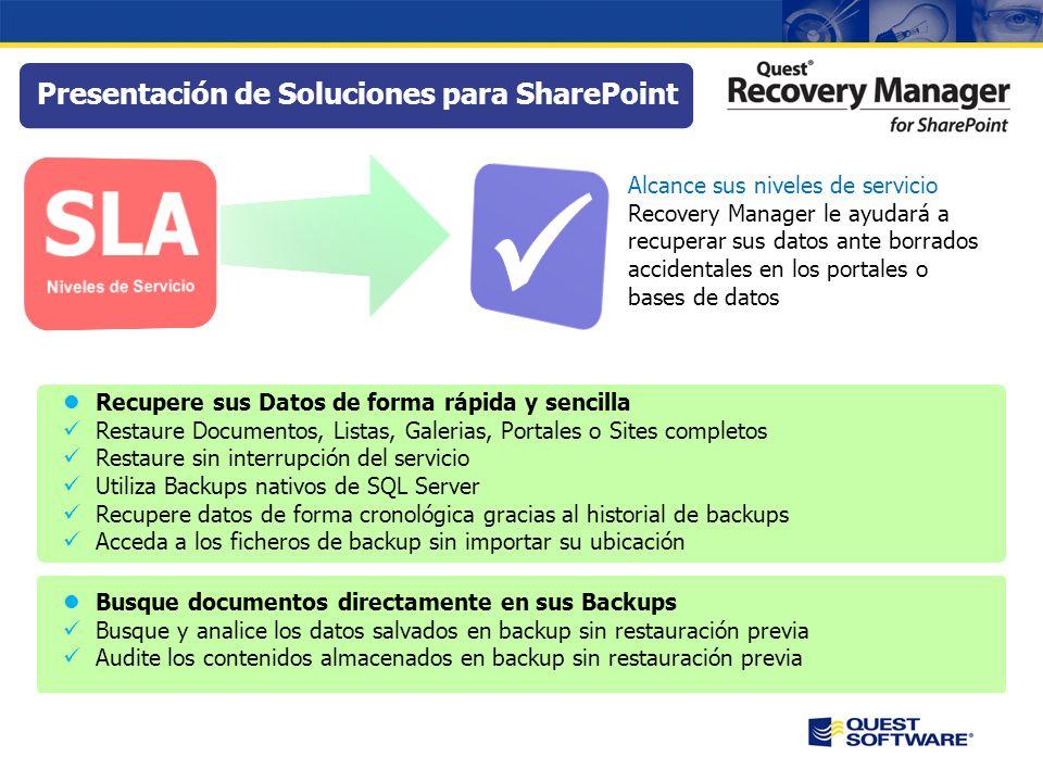  SLA Presentación de Soluciones para SharePoint