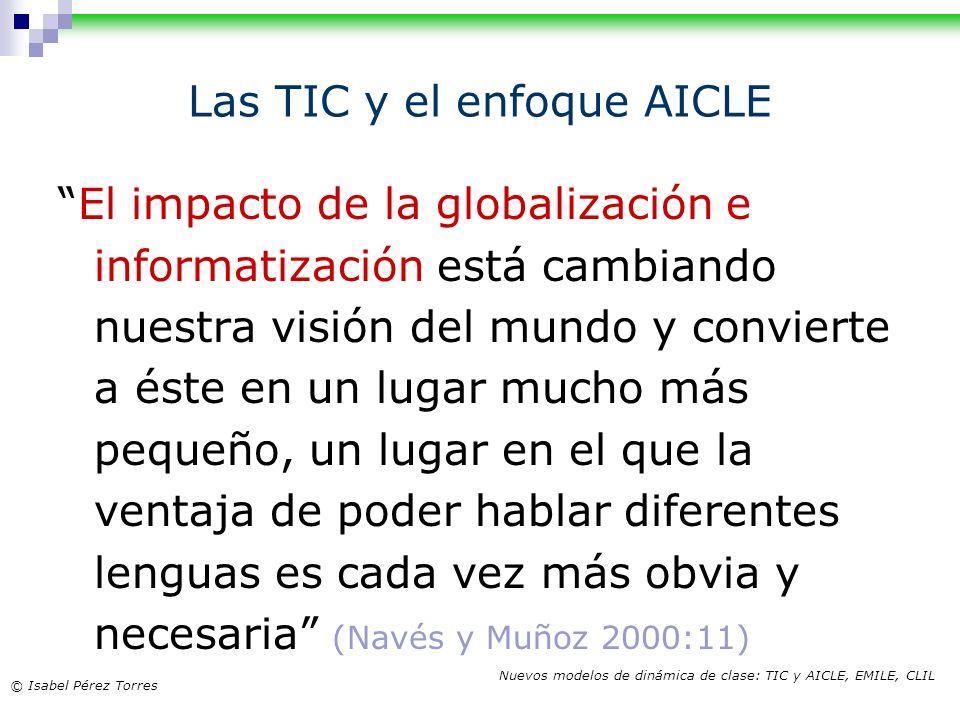 Las TIC y el enfoque AICLE
