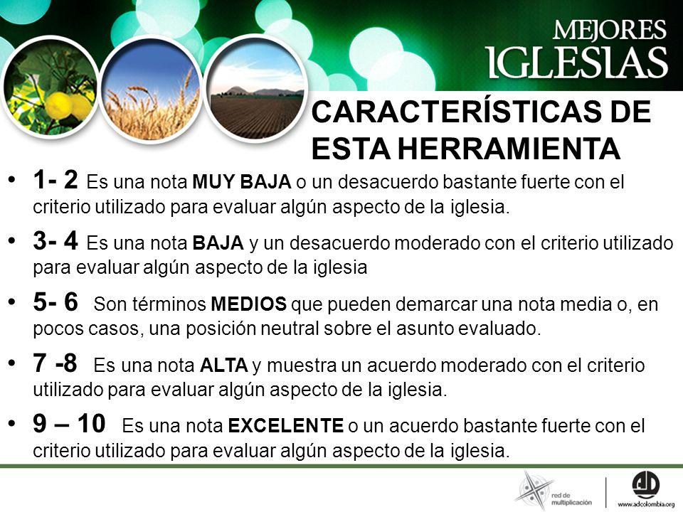 CARACTERÍSTICAS DE ESTA HERRAMIENTA