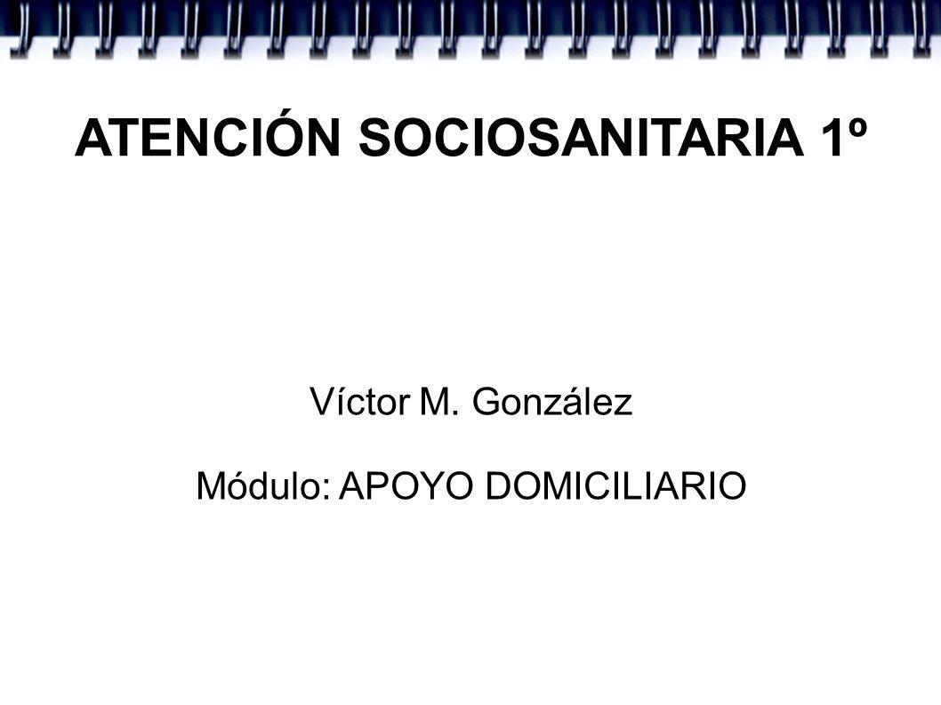 ATENCIÓN SOCIOSANITARIA 1º