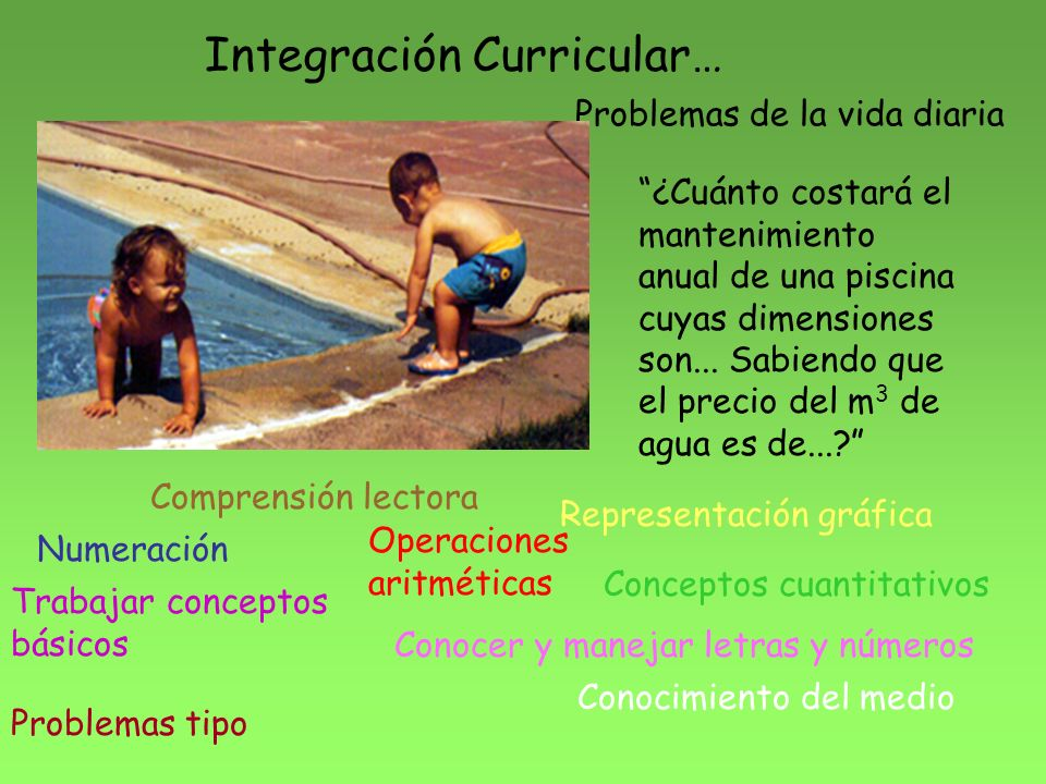 Integración Curricular…