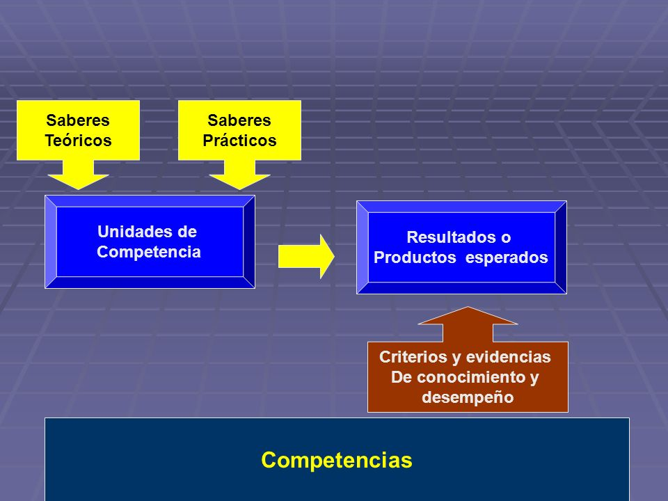 Criterios y evidencias