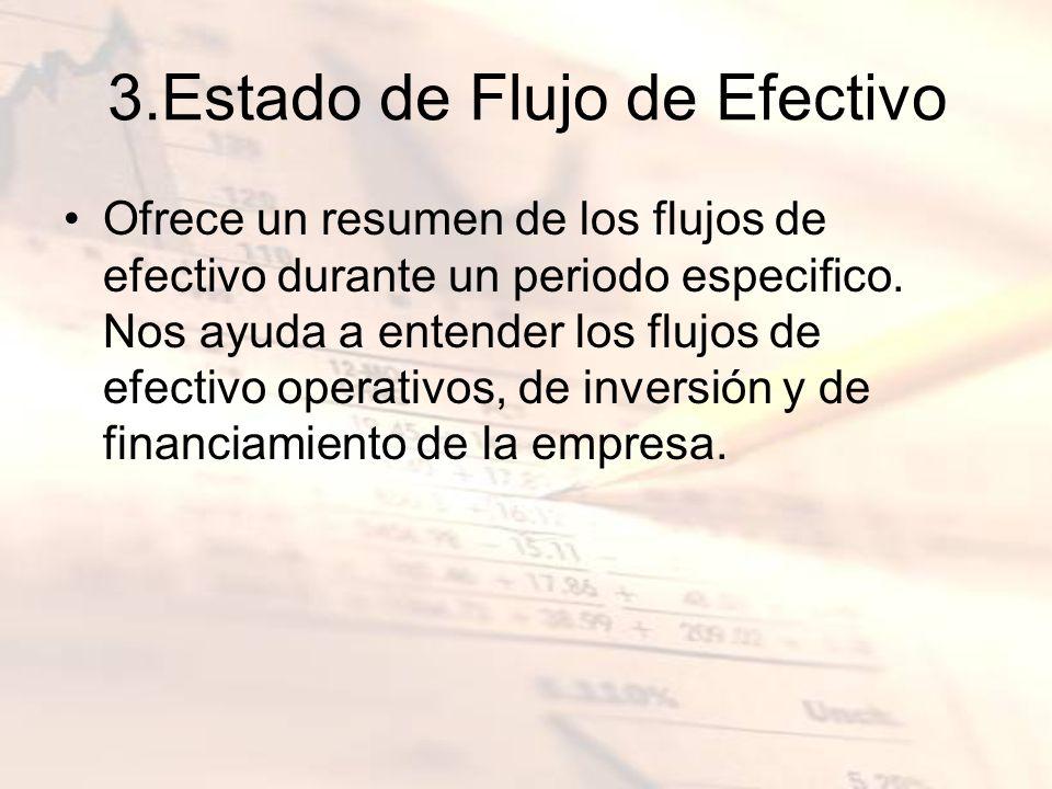 3.Estado de Flujo de Efectivo