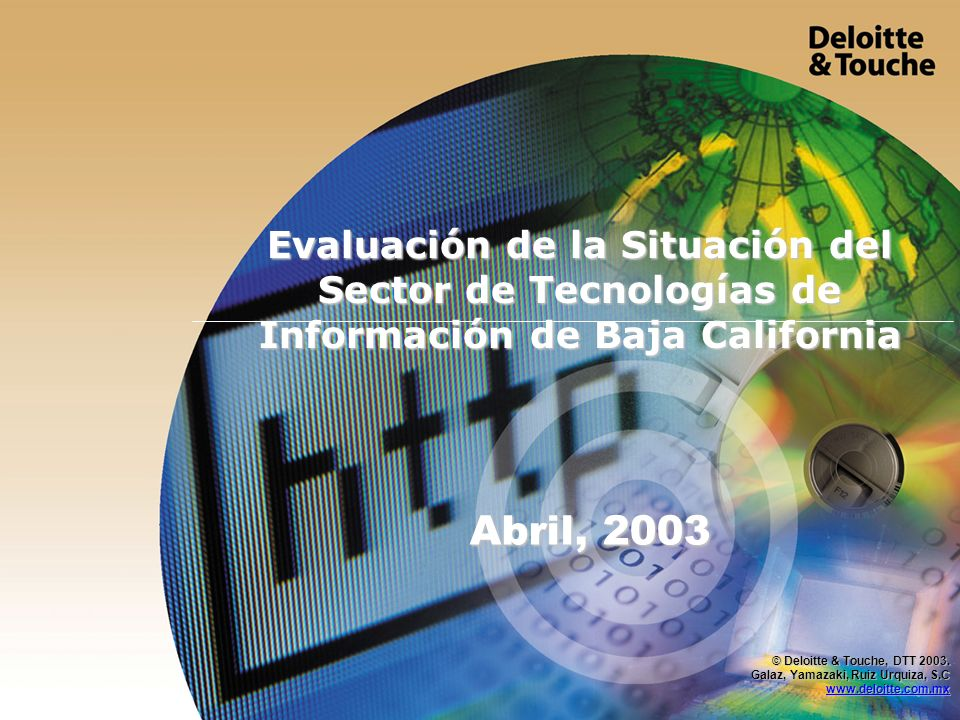 Evaluación de la Situación del Sector de Tecnologías de Información de Baja California