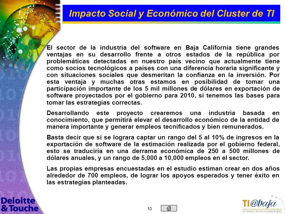 Impacto Social y Económico del Cluster de TI