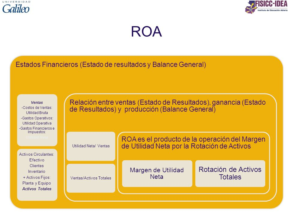 ROA Rotación de Activos Totales