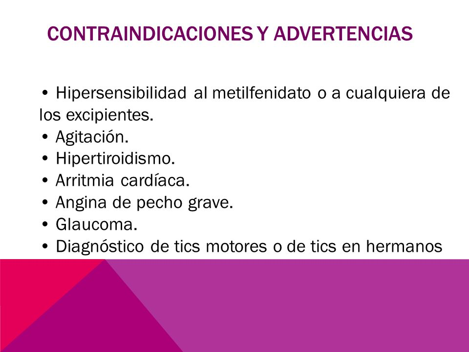CONTRAINDICACIONES Y ADVERTENCIAS