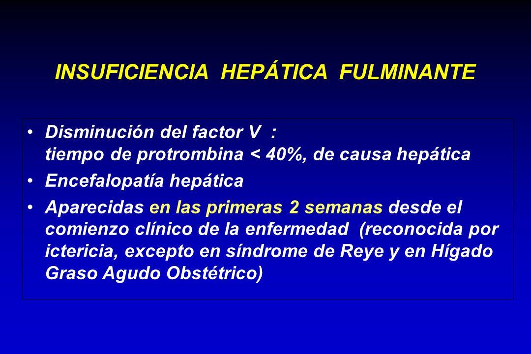 INSUFICIENCIA HEPÁTICA FULMINANTE