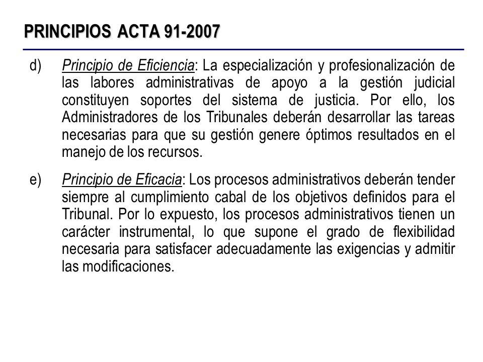 PRINCIPIOS ACTA 91-2007