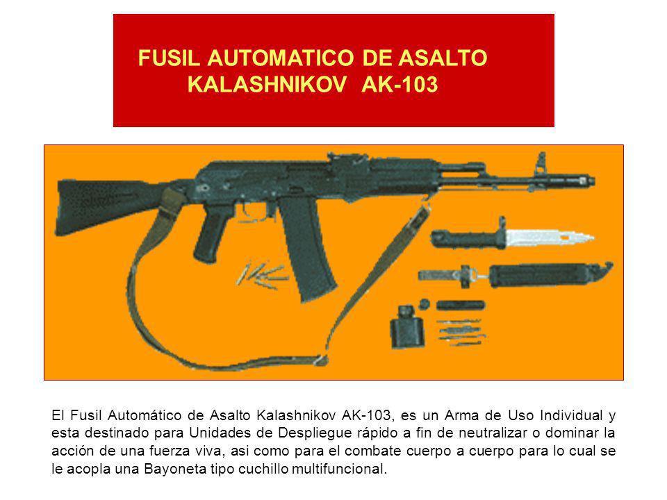 FUSIL AUTOMATICO DE ASALTO KALASHNIKOV AK-103