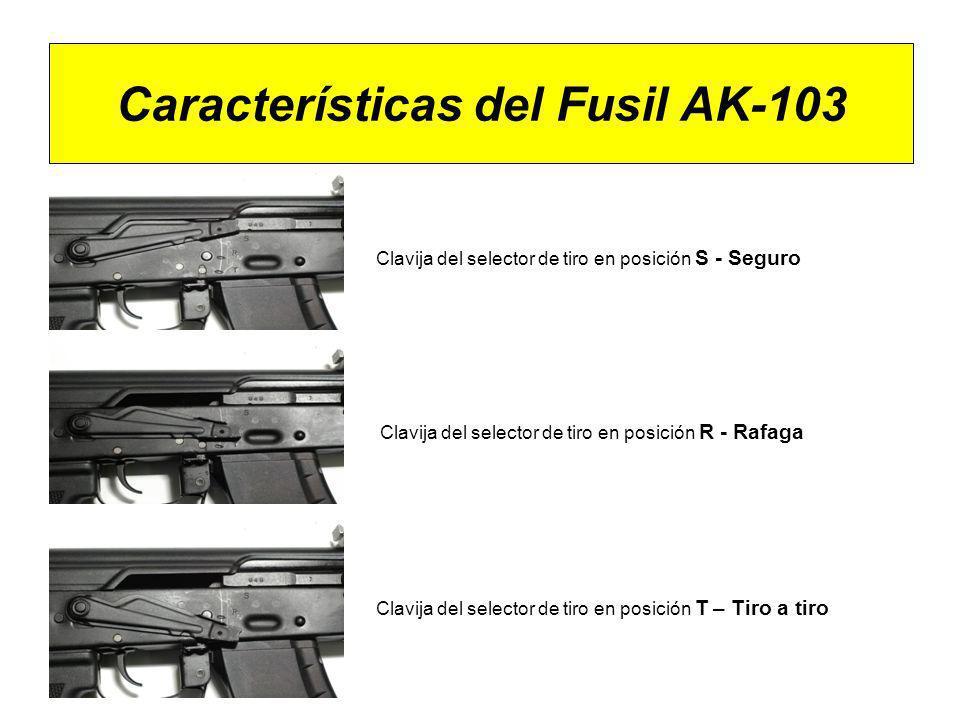 Características del Fusil AK-103