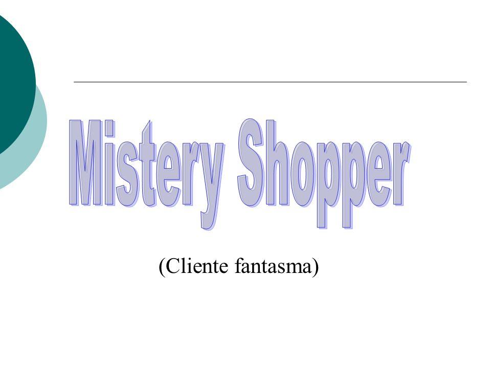 Mistery Shopper (Cliente fantasma)