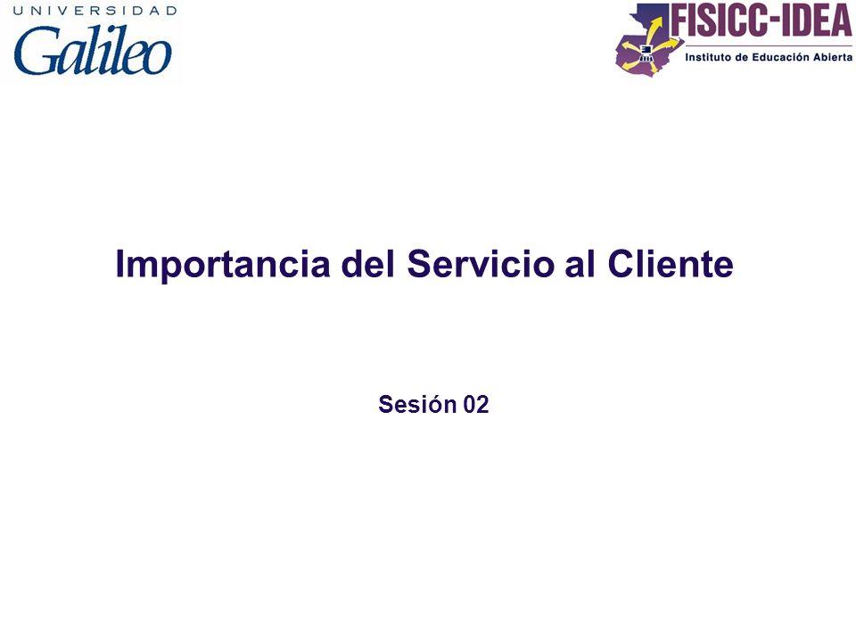 Importancia del Servicio al Cliente