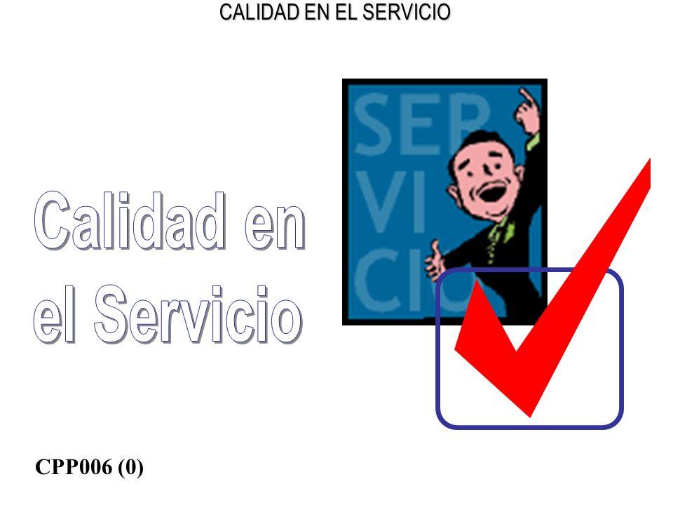Calidad en el Servicio CPP006 (0)