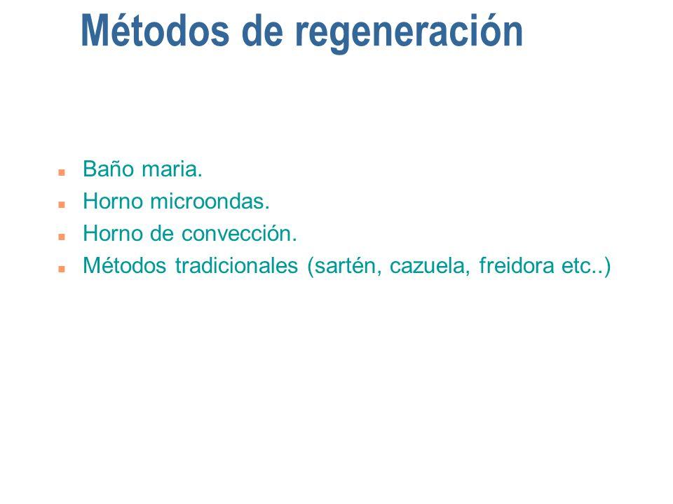 Métodos de regeneración