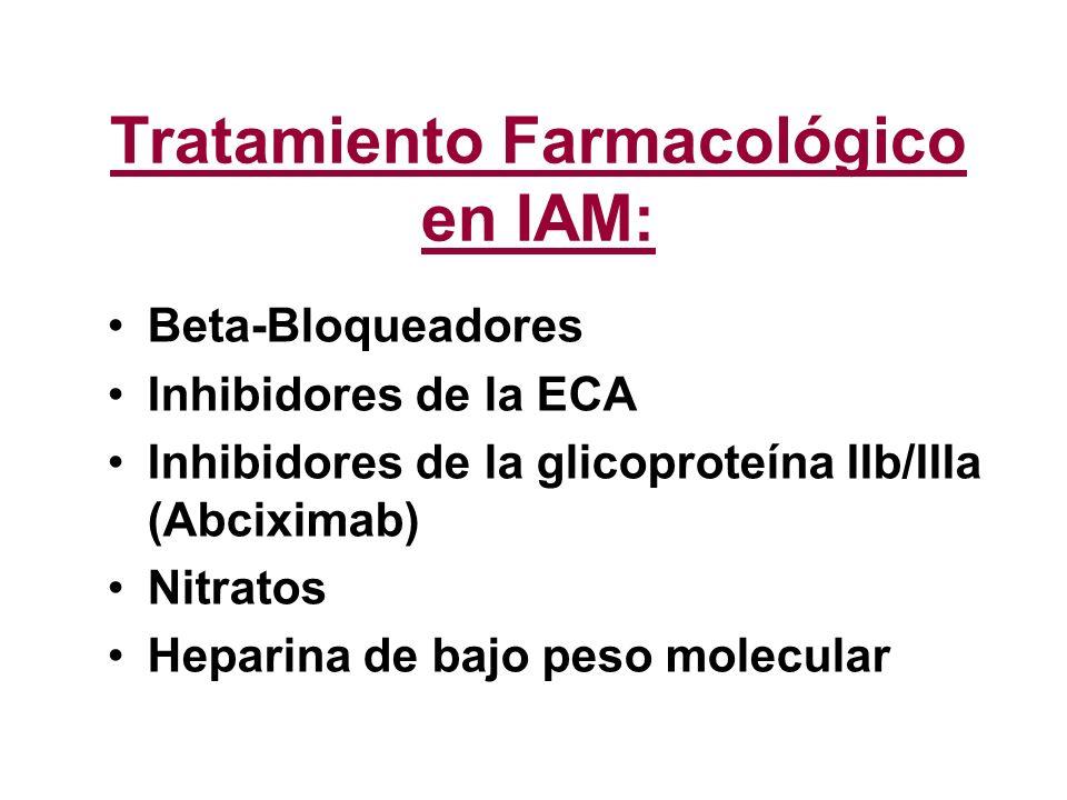 Tratamiento Farmacológico en IAM: