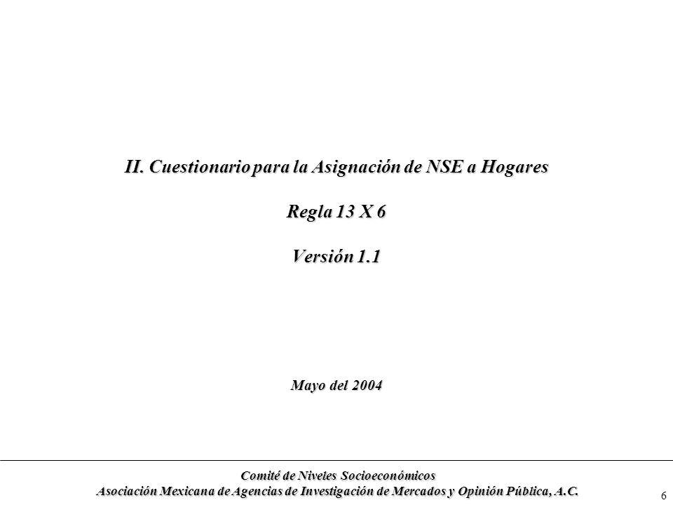 Comité de Niveles Socioeconómicos